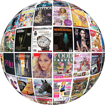 Experts at magazine licensing worldwide