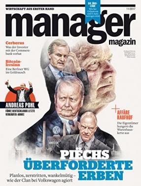 Manager Magazin | Spiegel Verlag Rudolf Augstein GmbH & Co | Browse  Magazines | Bruce Sawford Licensing